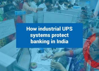 How industrial UPS systems protect banking in India
