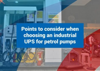 Points to consider when choosing an industrial UPS for petrol pumps